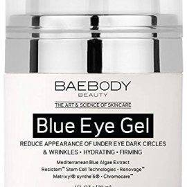 Baebody Blue Eye Gel for Dark Circles & Wrinkles – w Mediterranean Blue Algae