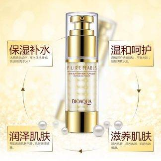 BIOAQUA Pure Pearl Collagen Hyaluronic Acid serum Face Skin Care Moisturizing Hydrating Anti Wrinkle Anti Aging Essence Cream