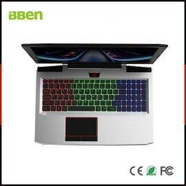 "BBEN G16 15.6"" Laptop Windows 10 Nvidia GTX1060 GDDR5 Intel i7 7700HQ 16GB RAM M.2 SSD IPS RGB Backlit Keyboard Gaming Computer"