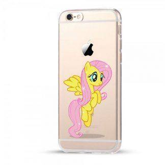 Cartoon My Little Pony Silicone TPU Transparent Cover Case For iPhone 7 8 6 6S Plus X 5 5S SE Case Coque Rainbow hippo Fundas