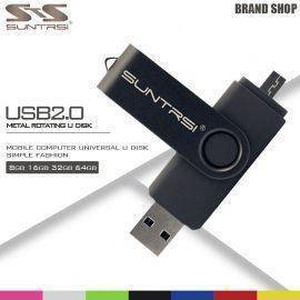 Original Suntrsi USB Flash Drive Real Capacity 4GB 8GB 16GB 32GB 64GB 2.0 USB Stick Pen Drive Memory Stick Pendrive Flash Card