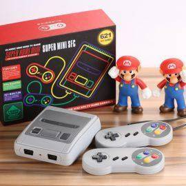 MINI Retro Classic handheld game player Family TV video game console Childhood Built-in 620 / 621 8 bit Games