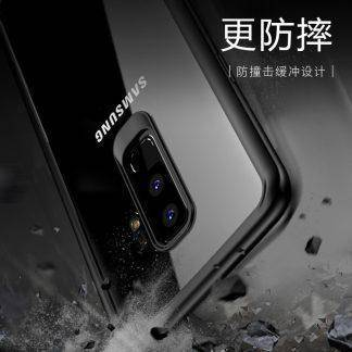 For Samsung Galaxy S9 / S9 Plus Case Full Protective Original TPU & Acrylic Transparent Back Cover for samsung s9 / s9p Luxury