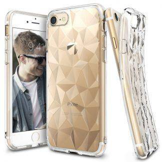 Ringke Air Prism Case for iPhone 7 8 Plus Case Flexible TPU 3D Diamond Design Micro Cushion Protection for iPhone 8 Case