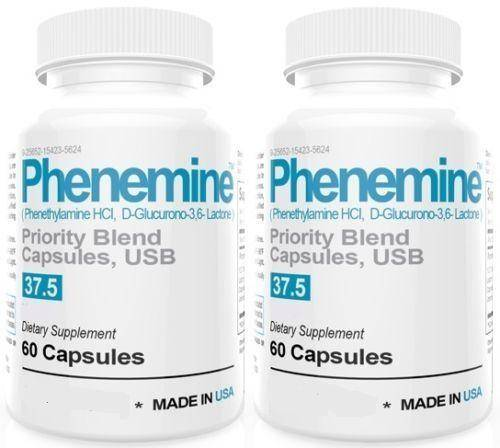 Phenemine 2 Maximum Strength Extreme Weight Loss Diet Pills Like Adipex P 37.5
