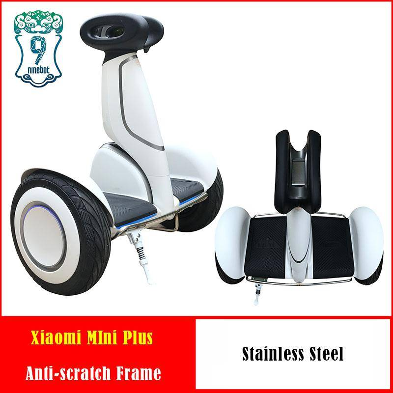 Anticollision stainless steel frame Bumper for Xiaomi Mini Plus Hoverboard Xiaomi Scooter accesaries and Xiaomi kickstand