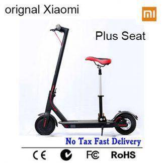 Xiaomi Mijia M365 APP Smart Electric Scooter foldable 30 km mileage with seat for children Xiaomi skateboard for adults