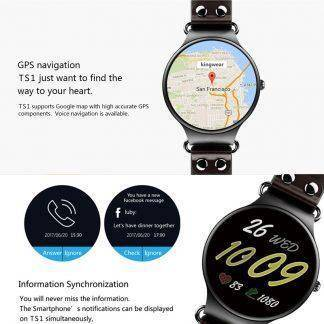 Torntisc 3G Bluetooth Smartwatch TS1 Android 5.1 OS MTK6580 Heart Rate SIM Smart Watch Fitness Tracker Smart Phone Wristwatch
