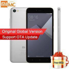Global Version Xiaomi Redmi Note 5A Note5A MIUI 9 Mobile Phones 2GB 16GB Snapdragon 425 Quad Core 5.5″ HD Display 2+1 Card Slot