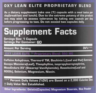 Oxy Lean Elite & Oxy Lean PM – Ultra Fat Burning Combo