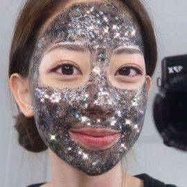 Star Tearing Face Mask Depth Replenishment Moisturizing Pore Shining Stars Skin Care Mask Fantasy Color Facial Mask