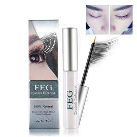 100% New Chinese Brand FEG Powerful Makeup Eyelash Growth Serum Liquid Enhancer Eye Lash Treatment Longer Thicker 3ml