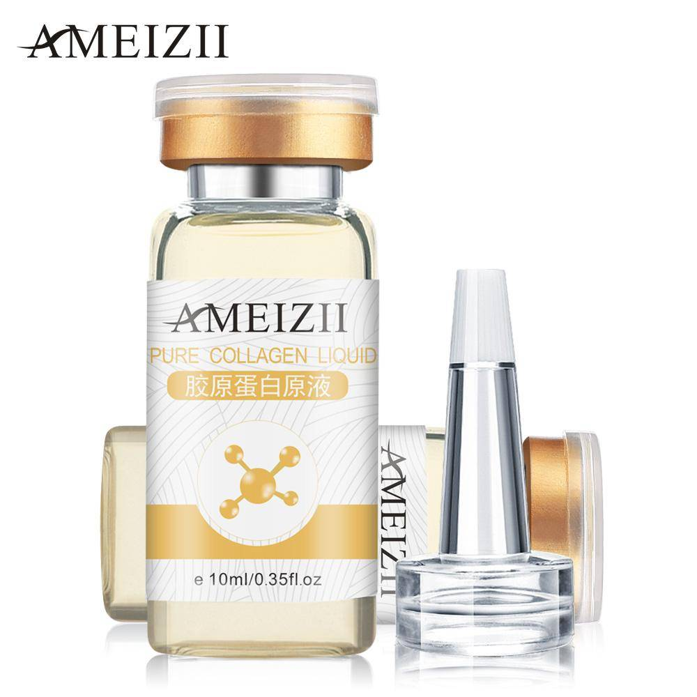 AMEIZII Collagen Original Liquid Face Skin Care Day Creams Beauty Anti-aging Wrinkle Essence Whitening Moisturizing Treatment