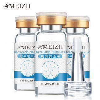 AMEIZII 10ml Pure Hyaluronic Acid Liquid Skin care Moisturizing Whitening Snail Repair Anti Wrinkle Cream Anti Aging Face Care