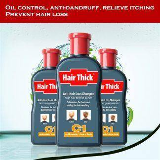 Anti-hair Loss Shampoo with Hair Growth Serum Hair Loss Products Oil Control Anti-dandruff Relieve Itching Unisex