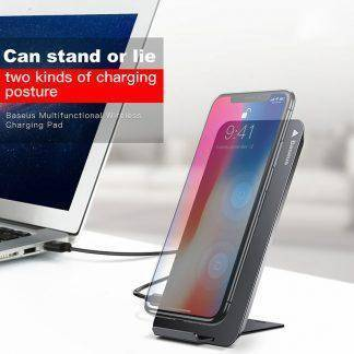 Baseus Qi Wireless Charger For iPhone X 8 Samsung Note 8 S8 Plus S7 S6 Edge Phone Fast Wireless Charging Docking Dock Station