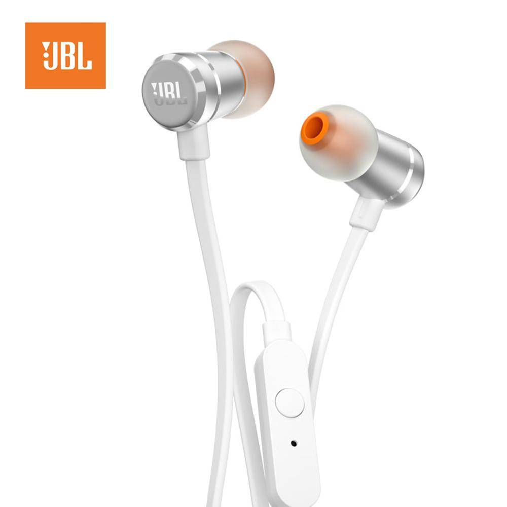 JBL T290 3.5mm Wired In-ear earphones Stereo Music Headset Dynamic Bass Earphone One Button Remote Hands-free with Microphone