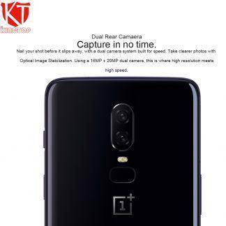 "2018 New Oneplus 6 Waterproof Mobile Phone 6.28"" 6/8GB RAM 64/128GB ROM Snapdragon 845 Android 8.1 Dual Rear Camrea 20+16MP NFC"