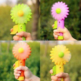 New Mini Sonnenblume Handheld Cooling Water Spray Mist Fan With Spray Bottle #Y05# #C05#
