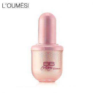 Loumesi hydrating bb cream makeup foundation concealer cream nude makeup natural perfect cover bb cc cream 45ml