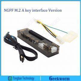 PCIe PCI-E PCI Express Card Laptop EXP GDC Laptop External Independent Video Card Dock (NGFF M.2 A key interface Version)