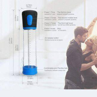 Electric Penis Pump,CANWIN Strong Automatic Penis Enlargement Vacuum Pump, Penis Erection Pump,Penis Extend Toys  17