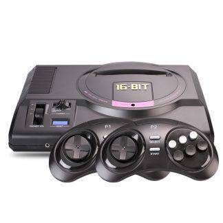 Hot hd Video Game Console sega mega drive game consol Genesis 18 in 1 free games cartridge with 2.4G wireless controller