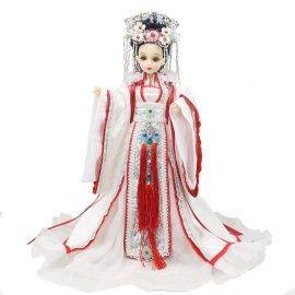 Fortune days doll East Charm doll including clothes, stand and box 35cm souvenir gift toy Chinese Style