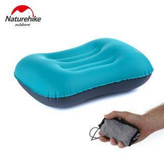 Naturehike Inflatable Pillow Travel Air Pillow Neck Camping Sleeping Gear Fast Portable TPU NH17T013-Z