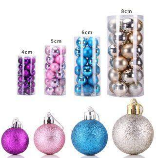 Christmas Tree Decor Ball Bauble Hanging Xmas Party Ornament decorations for Home Christmas decorations