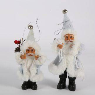 Home Christmas Santa Claus Doll Toy Christmas Tree Ornaments Decoration Exquisite For Home Xmas Happy New Year Gift