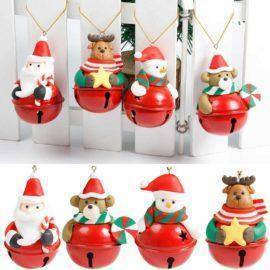 Christmas Tree Decor Hanging Ornaments Snowman Deer Santa Claus Dolls christmas Home decorations New year hanging decorations
