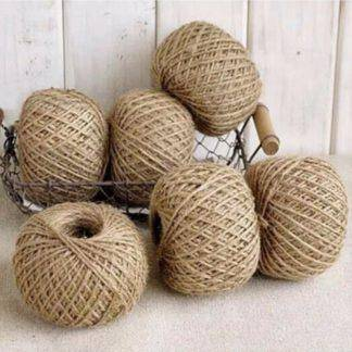 Natural Jute Burlap Ribbon Rustic Vintage Wedding Decor Hessian Lace Jute Roll Merry Christmas Party Supplies DIY