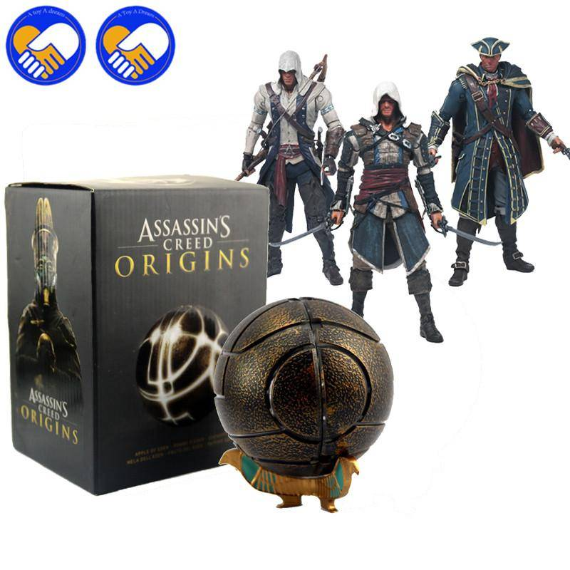 Assassins Creed The Apples of Eden Assassin's Creeds Action figure Toys collector Christmas Gifts doll