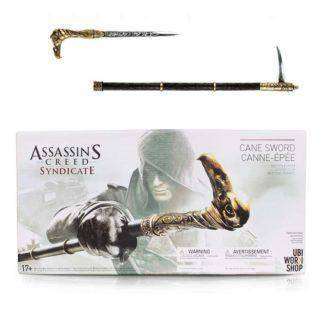 Assassin's Creed Syndicate Game Assassin Creed Cane Sword Anime PVC Figure Model Toy
