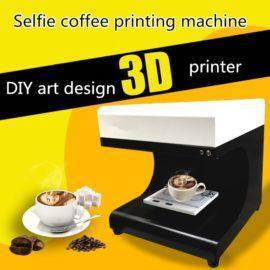 Selfies Coffee Printer Milk Tea Yogurt Cake Printing Machine DIY design art design beverage biscuit cream printer/ latte printe