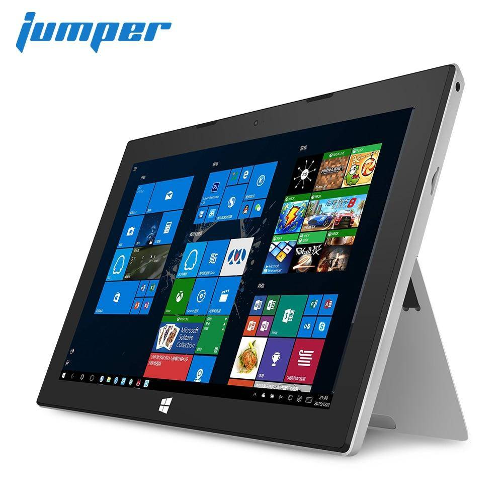 2 in 1 tablet Jumper EZpad 7S windows tablets Intel Cherry Trail Z8350 4GB DDR3 64GB EMMC 1080P IPS tablet pc HDMI laptop