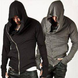 Zipper Fashion Sweatshirt Men's Tracksuit Men Assassins Creed Hoodies