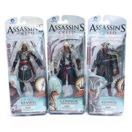 Assassins Creed 4 Black Flag Connor Haytham Kenway Edward Kenway PVC Action Figure Toys