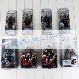 Assassin's Creed PVC figure Black Flag Connor Haytham Kenway Haytham Kenway Altair Ezio Master Assassin Toy