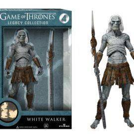 "Official Funko Legacy Collection Action Figure 6"" TV: Game of Thrones – White Walker with Spear Collectible Model Toy in Box"
