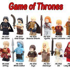 Game Of Thrones Single Sale Figure Khai Drago Daenerys White Walker Jaime Ice And Fire Building Block Model Toys