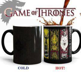 Game Of Thrones Mugs Tribal Totem Mug Color Changing Magic Mugs Cup Tea Coffee Mug Cup