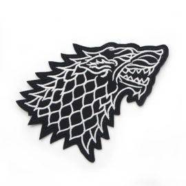 Game of Thrones Wolf Household Iron-on Stickers Patches DIY Decoration Appliqued badges