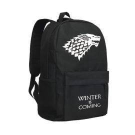 Game of Thrones Backpack for Boys Men Laptop Bag House Stark House Targaryen Backpacks Fire and Blood