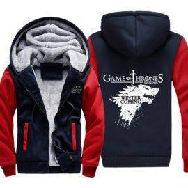 Brand 3D Hoodies Game of Thrones Sweatshirts Men Winter thicken Sportswear Casual
