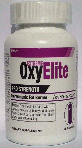 Maximum OxyElite Pro Strength Thermogenic Fat Burner Weight Loss
