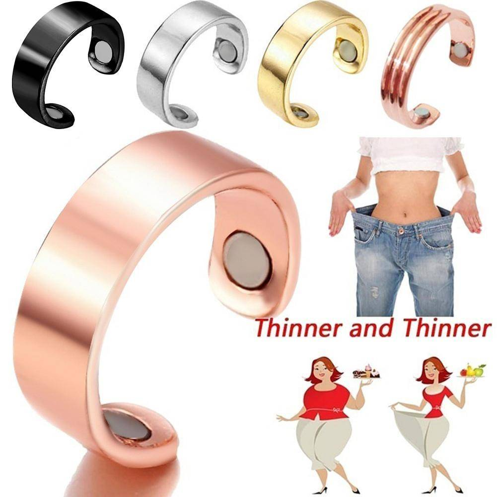 Natural Fat Burning Fashion Micro Magnetic Weight Loss Ring Fat Burning Slimming Finger Ring health acessories