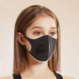Coronavirus Dustproof Mask Activated Carbon With Filter Anti-Pollution Cycling Sport Bicycle MTB Bike Face Masks