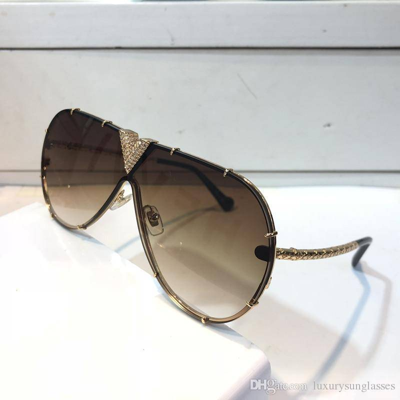 louis vuitton millionaire sunglasses Z1060 Sunglasses With Little Stones Retro Vintage Designer
